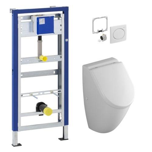 geberit duofix urinal element und v b subway urinal cp. Black Bedroom Furniture Sets. Home Design Ideas