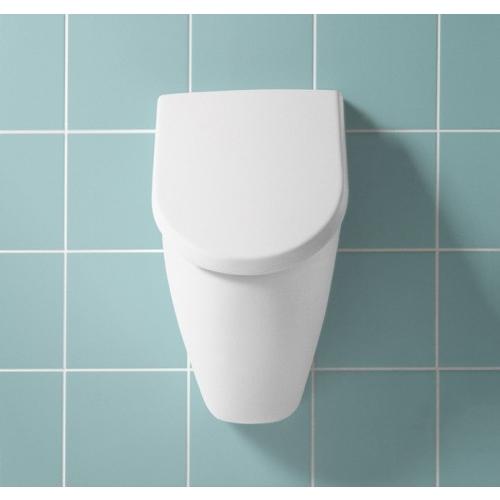 villeroy boch subway absaug urinal 28 5x53 5x31 5 cm mit deckel 751301 design in bad. Black Bedroom Furniture Sets. Home Design Ideas