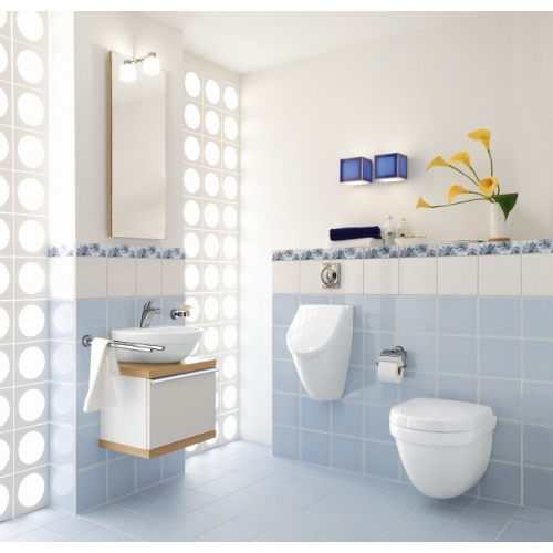 v b villeroy und boch subway absaug urinal ceramicplus set m deckel 751301r1 ebay. Black Bedroom Furniture Sets. Home Design Ideas
