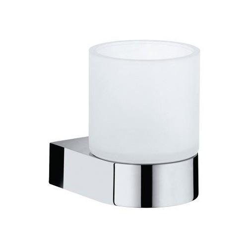 keuco glashalter edition 300 30050 kpl mit echtkristall glas verchromt design in bad. Black Bedroom Furniture Sets. Home Design Ideas