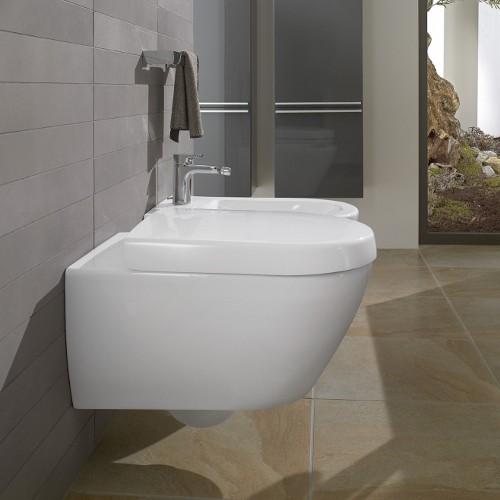v b villeroy und boch subway 2 0 set m wand wc wei c wc sitz urinal c deckel ebay. Black Bedroom Furniture Sets. Home Design Ideas