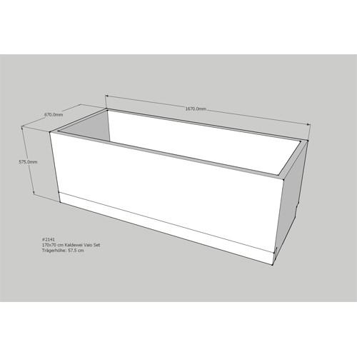 kaldewei badewanne 170x70 preisvergleiche erfahrungsberichte und kauf bei nextag. Black Bedroom Furniture Sets. Home Design Ideas