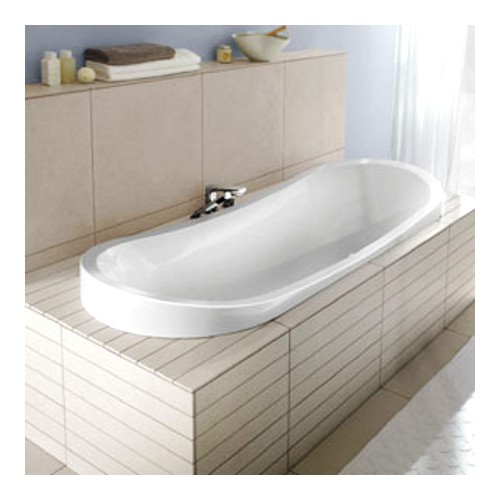 v b villeroy boch my nature oval badewanne acryl 190 x 80 wei ba190nat7v01 ebay. Black Bedroom Furniture Sets. Home Design Ideas