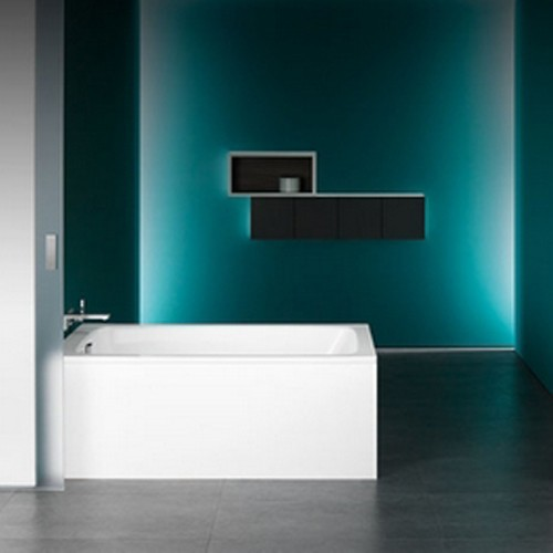 kaldewei stahl badewanne cayono 751 180x80 cm design in bad. Black Bedroom Furniture Sets. Home Design Ideas