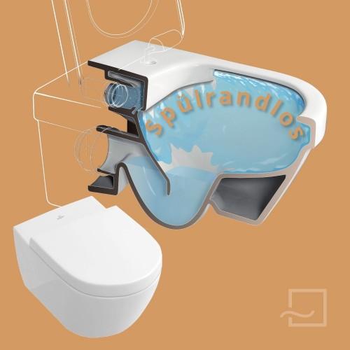 Subway 2.0 Tiefspül-WC spülrandlos Set mit WC-Sitz SoftClosing