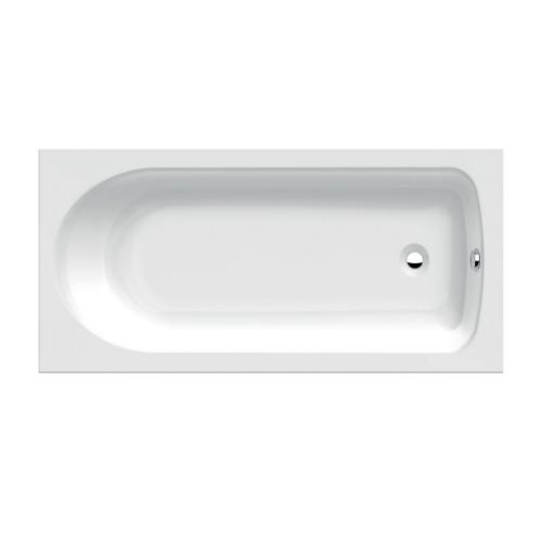 Ablaufgarnitur Und Made Acryl Ideal 170 X Träger Körperform-badewanne By Cm Mit Standard 75