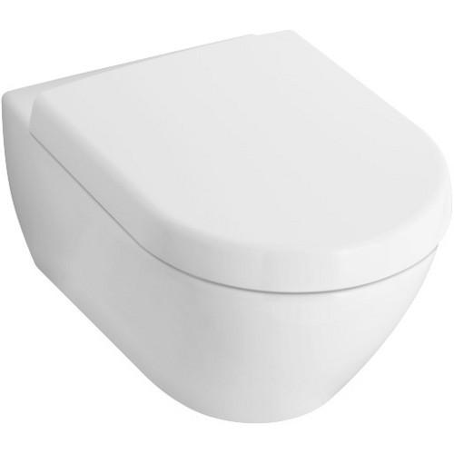 villeroy boch subway 2 0 wand wc set mit wc sitz quickrelease und softclosing design in bad. Black Bedroom Furniture Sets. Home Design Ideas