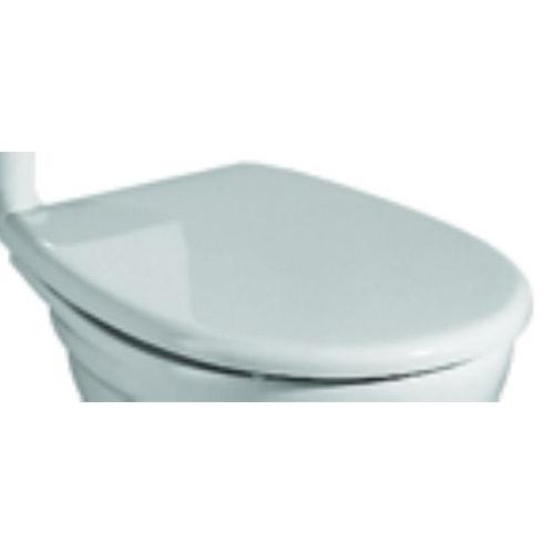 keramag wc sitz mit deckel f r renova nr 1 mit standard l scharnieren 572165 ebay. Black Bedroom Furniture Sets. Home Design Ideas