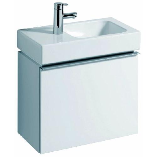 keramag icon xs waschtisch unterschrank platin hochglanz  ~ Waschbecken Xs
